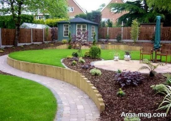 محوطه سازی حیاط با ایده های بی نظیر