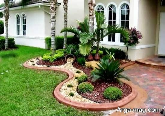 محوطه سازی حیاط با ایده های خلاقانه
