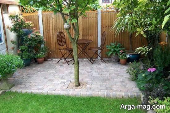 محوطه سازی حیاط با ایده های جذاب