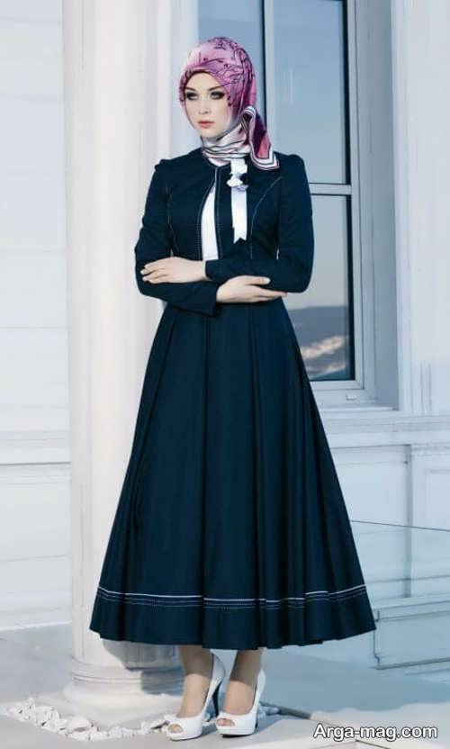 مدل مانتو لبنانی شیک و جدید