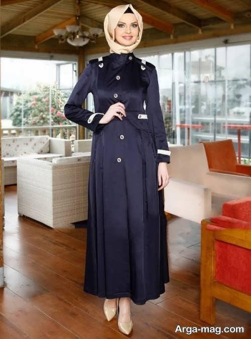 مدل مانتو زیبا و جذاب لبنانی