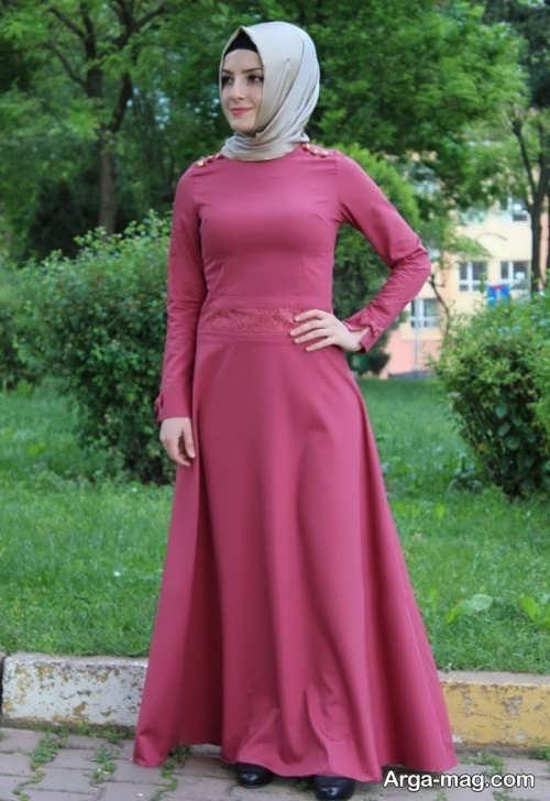 مدل مانتو ساده لبنانی