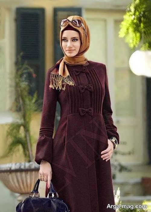 مدل مانتوی لبنانی زیبا