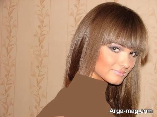 رنگ مو زنانه قهوه ای روشن