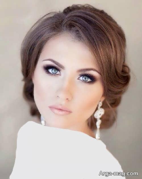 مدل آرایش لایت صورت زنانه