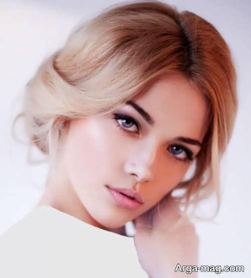 مدل آرایش صورت شیک و متفاوت