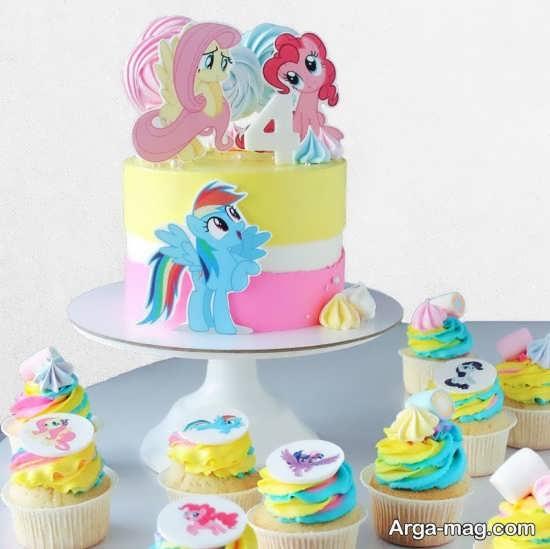جشن تولد با طراحی پونی کوچولو