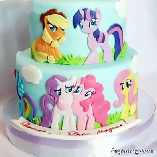 کیک تولد پونی کوچولو