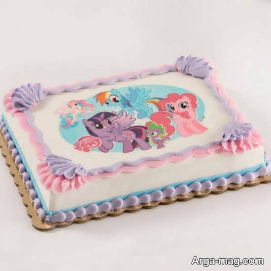 کیک تولد منحصر به فرد از پونی کوچولو