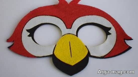 صورتک پرنده برای کودکان