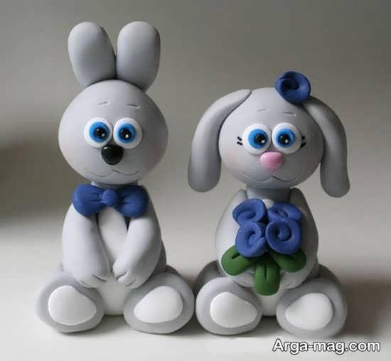 مدل ساخت عروسک شیک با خمیر چینی