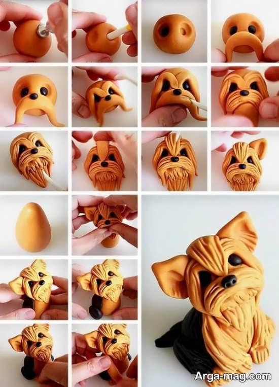 آموزش ساخت عروسک زیبا با خمیر چینی