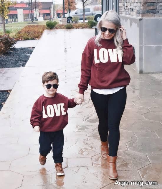 لباس ست مادر و پسری با مدل های جدید