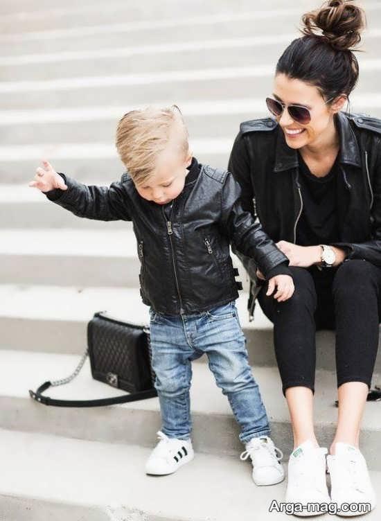 لباس ست مادر و پسری با مدل های دیدنی