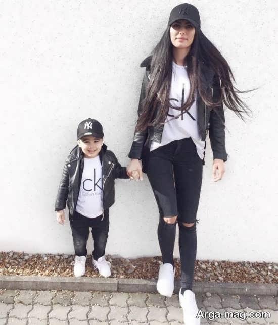 جالب ترین لباس ست مادر و پسر