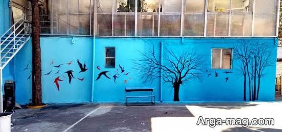 مدل نقاشی شیک دیواری
