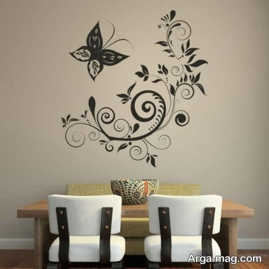 نقاشی روی دیوار برای منزل