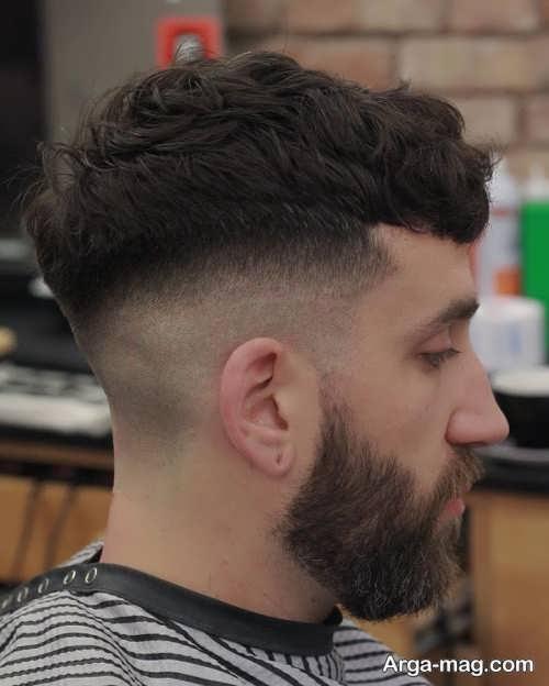 مدل موی پسرانه شیک قارچی
