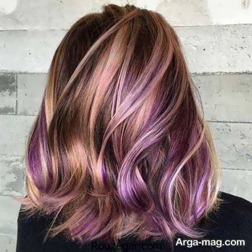 رنگ مو شیک و متفاوت آمبره