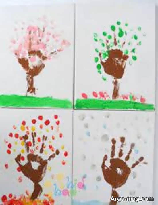 آموزش نقاشی چهار فصل