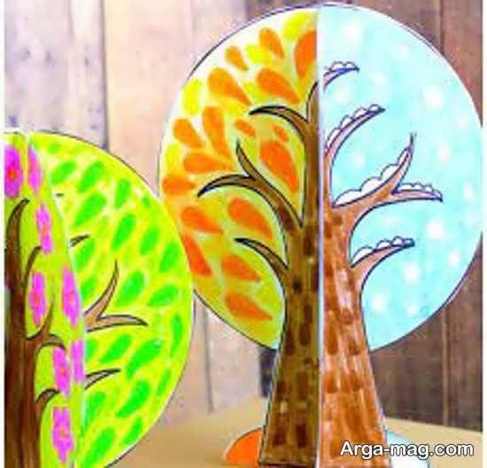 نقاشیهای چهار فصل