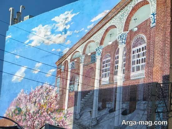 نقاشیهای سه بعدی دیواری جذاب