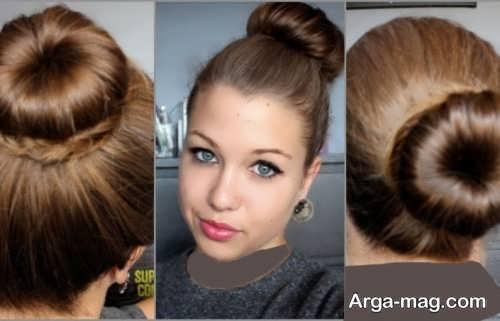 مدل آرایش موی شیک و زیبا بسته