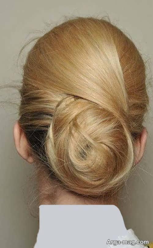 مدل شینیون موی زنانه