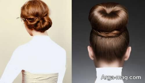 مدل آرایش موی بسته شیک و جذاب