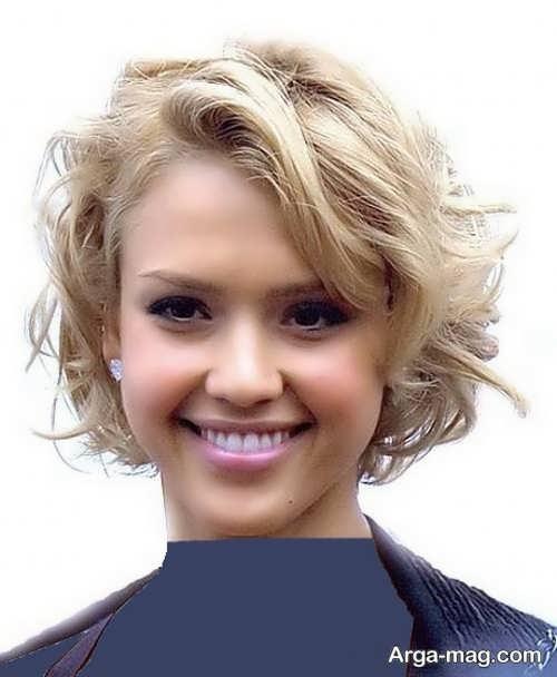 مدل موی کوتاه و زیبا فر
