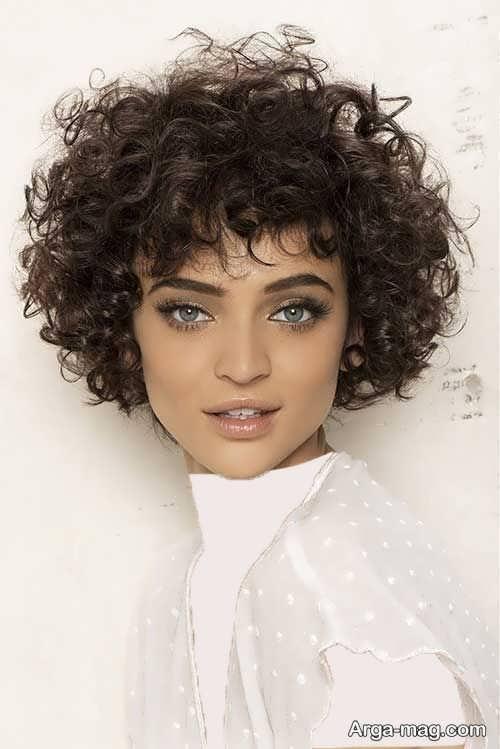 مدل موی جدید برای موهای فر