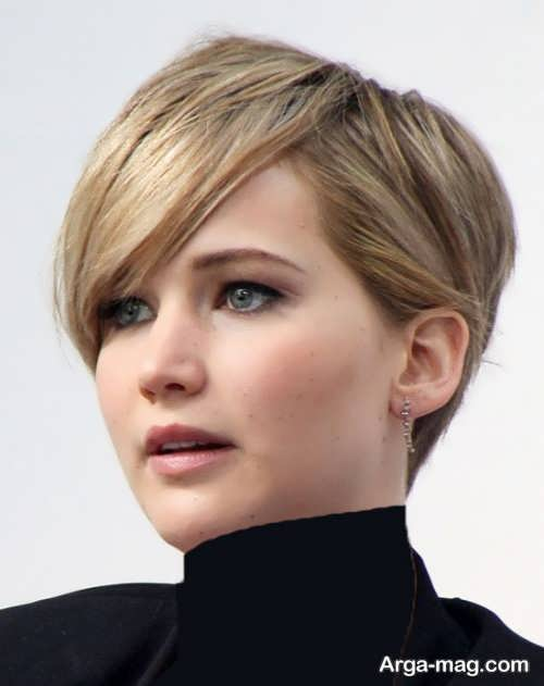 مدل موی زنانه کوتاه برای صورت چاق
