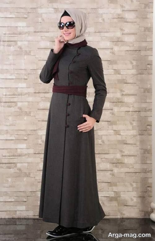 مدل مانتو بلند ساده زنانه