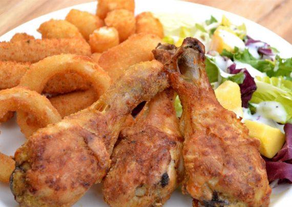 طرز تهیه غذای ساده با مرغ
