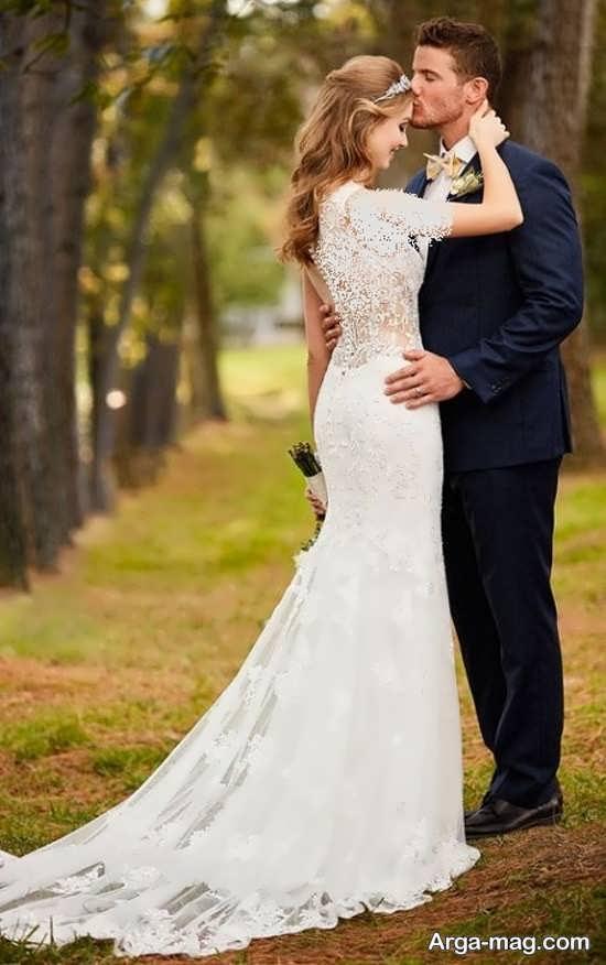 جدیدترین ژست عروس و داماد