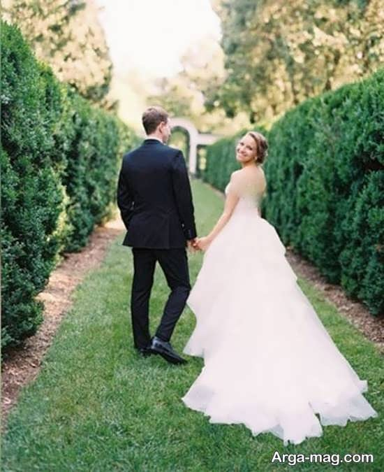 ژستهای عروس و داماد جالب