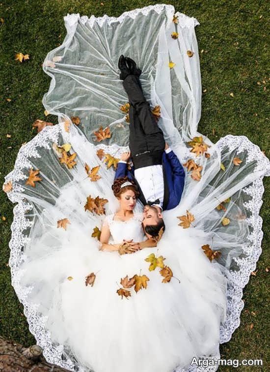 تصاویری از ژستهای عروس و داماد