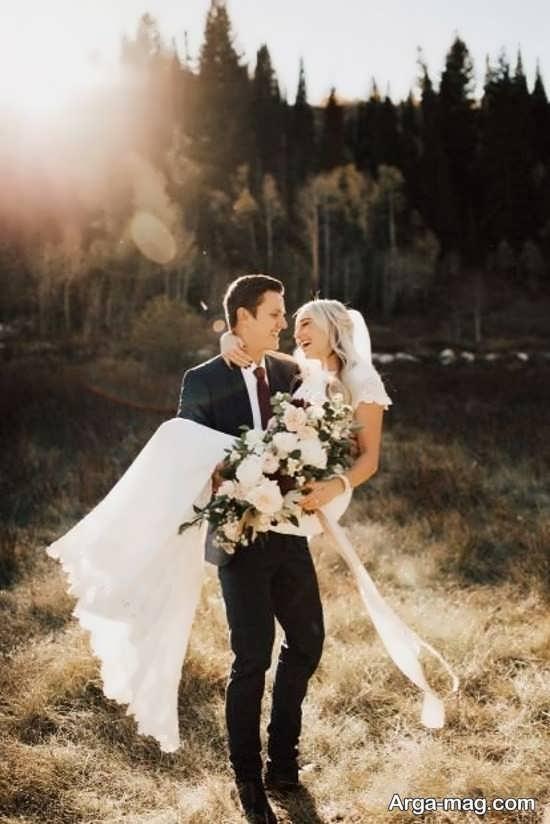 انواع ژستهای عروس و داماد