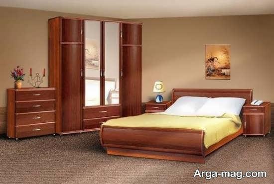 قشنگ ترین سرویس خواب چوبی