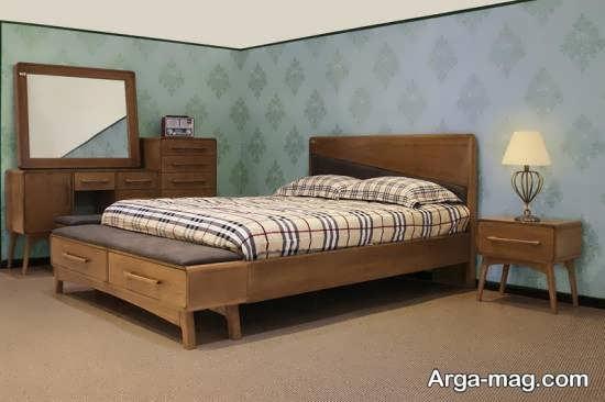 سرویس خواب کلاسیک با طراحی قشنگ