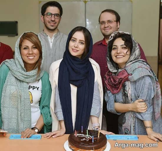الناز حبیبی در برنامه برپا