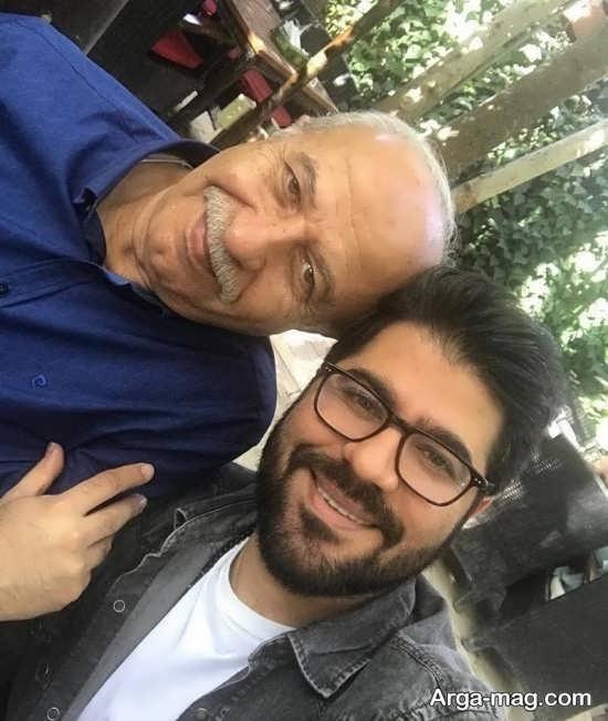 حامد همایون و پدرش
