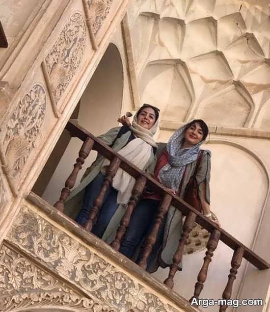 عکس هانیه توسلی و خواهرش