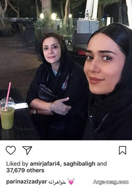 پریناز ایردیار و خواهرش