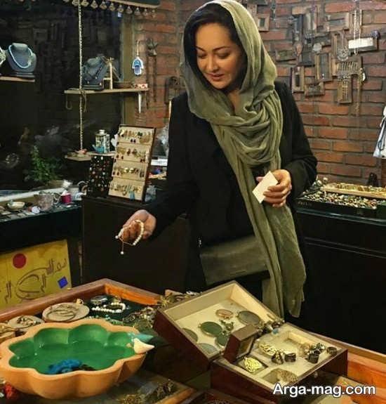 نیکی کریمی در گالری طلا و نقره