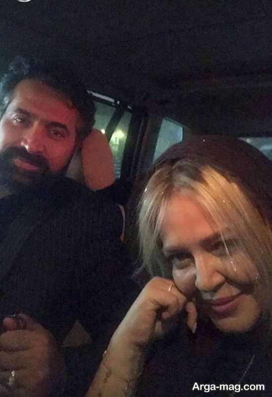 سلفی جدید بهاره رهنما و همسرش