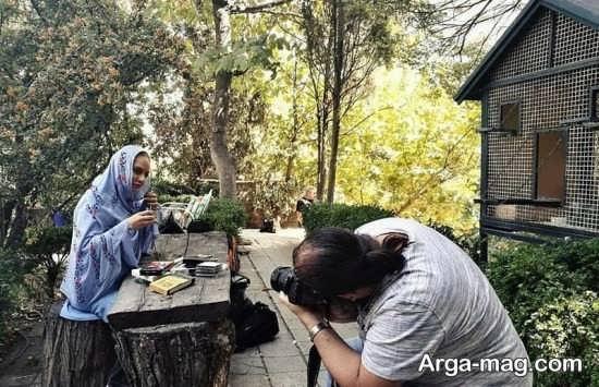 عکس مهناز افشار برای مجله