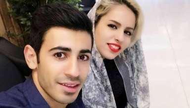 عکس احسان پهلوان و همسرش