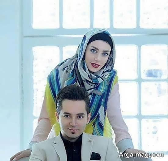 عکس زیبای شهنام شهابی و همسرش