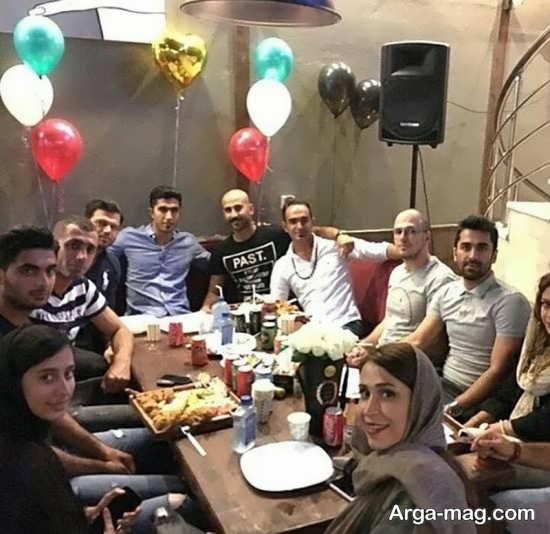 عکس دسته جمعی مجتبی میرزاجانپور